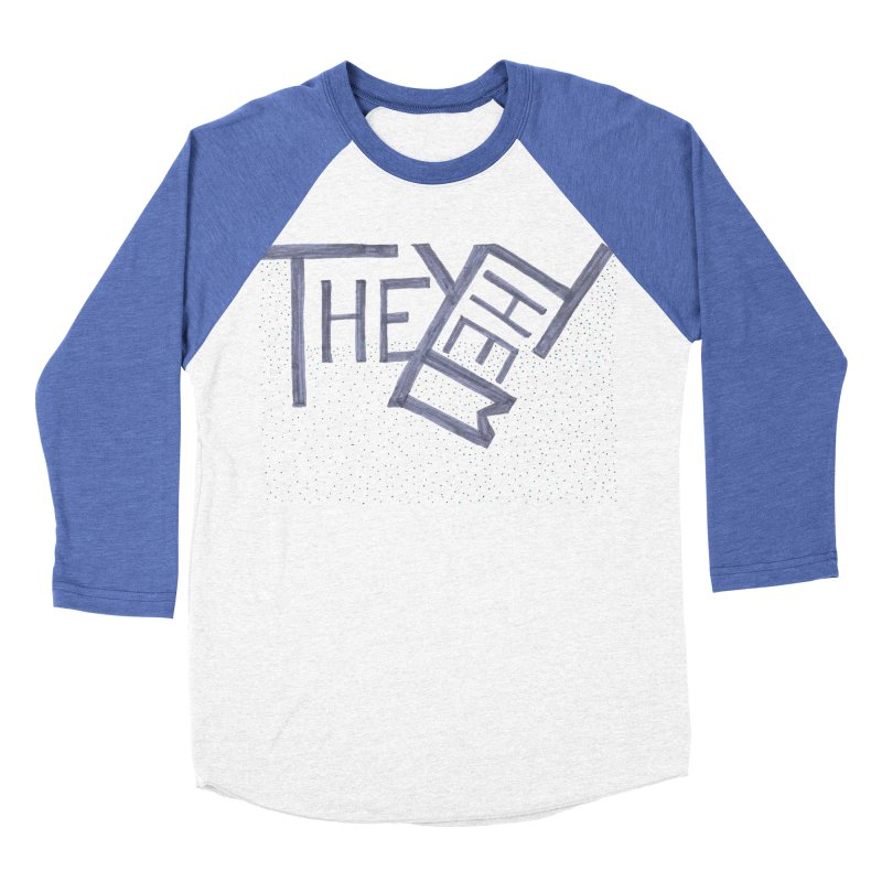 They/Them Women's Baseball Triblend Longsleeve T-Shirt by Cruel Valentine