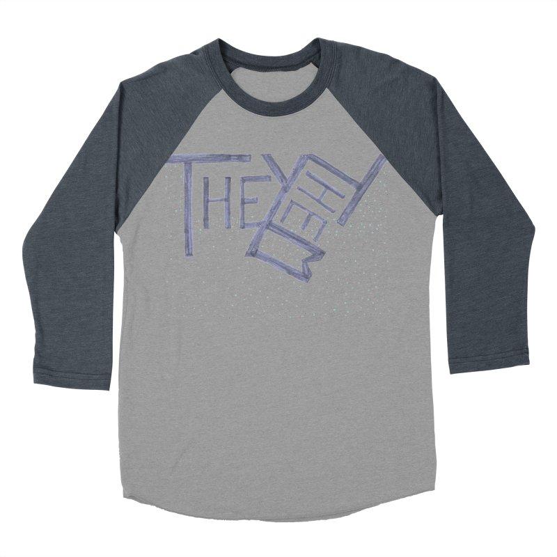 They/Them Men's Baseball Triblend Longsleeve T-Shirt by Cruel Valentine