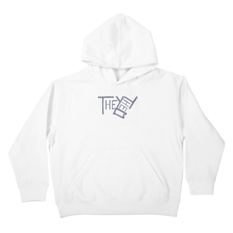 They/Them Kids Pullover Hoody by Cruel Valentine