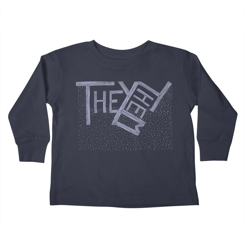 They/Them Kids Toddler Longsleeve T-Shirt by Cruel Valentine