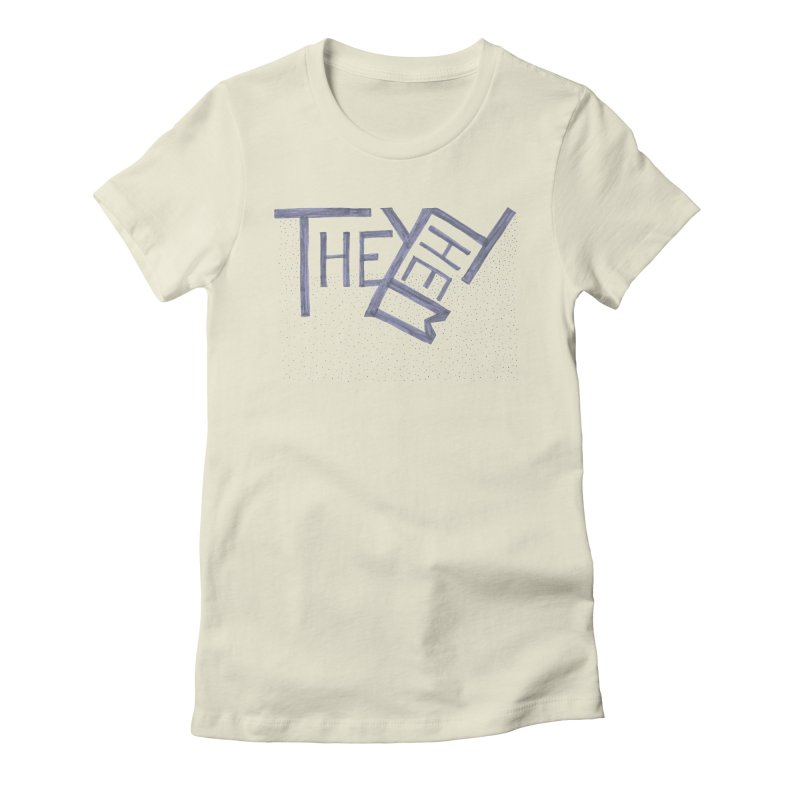 They/Them Women's Fitted T-Shirt by Cruel Valentine