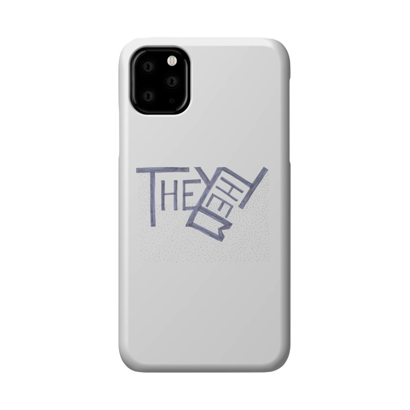 They/Them Accessories Phone Case by Cruel Valentine