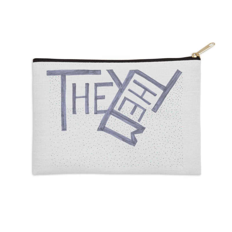 They/Them Accessories Zip Pouch by Cruel Valentine