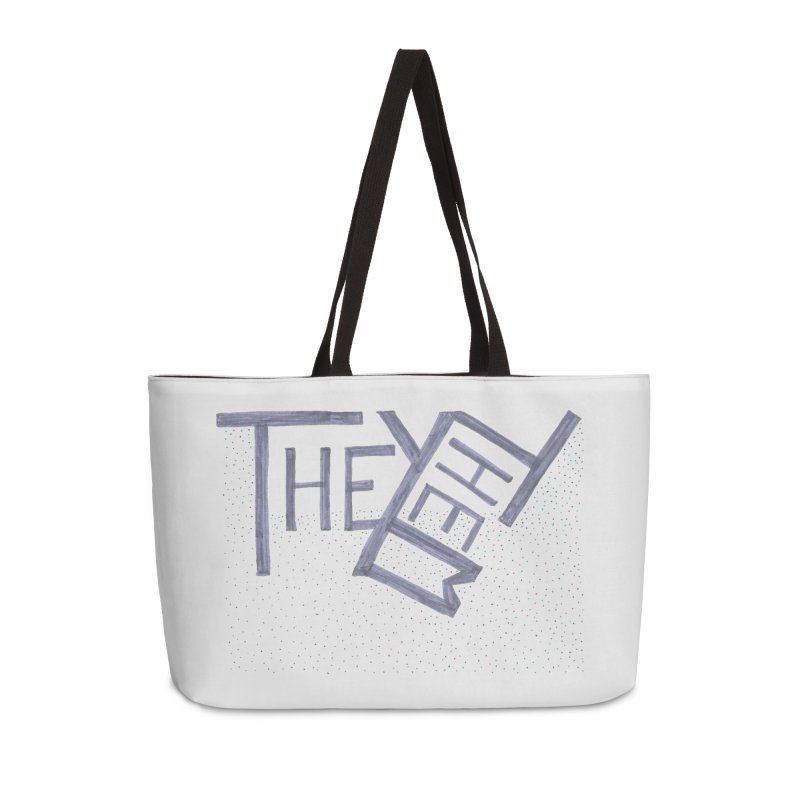 They/Them Accessories Weekender Bag Bag by Cruel Valentine