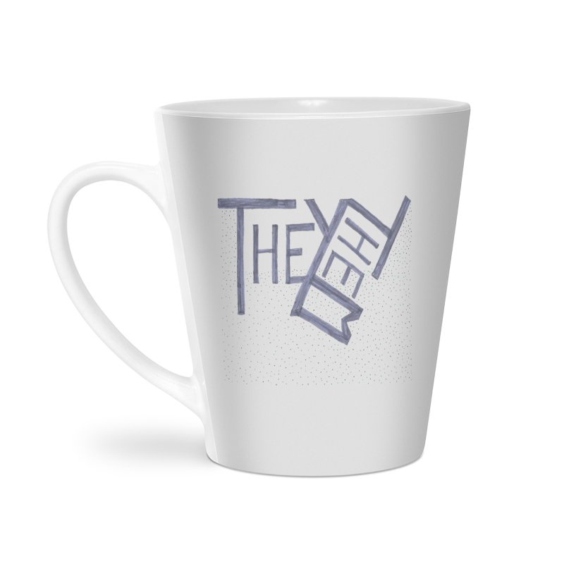 They/Them Accessories Latte Mug by Cruel Valentine