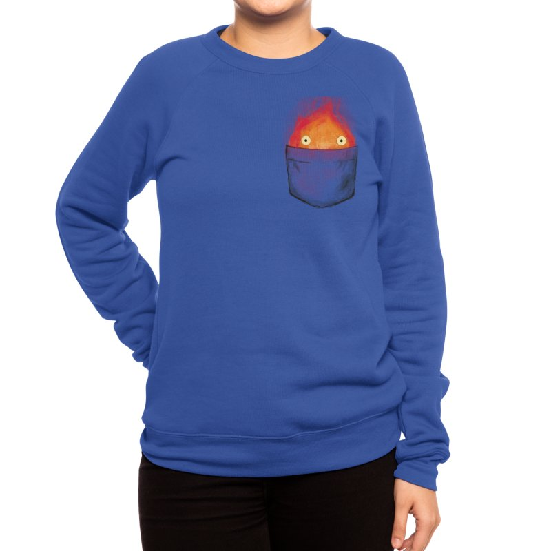 Personal Fire Demon Women's Sweatshirt by crumblincookie's Artist Shop