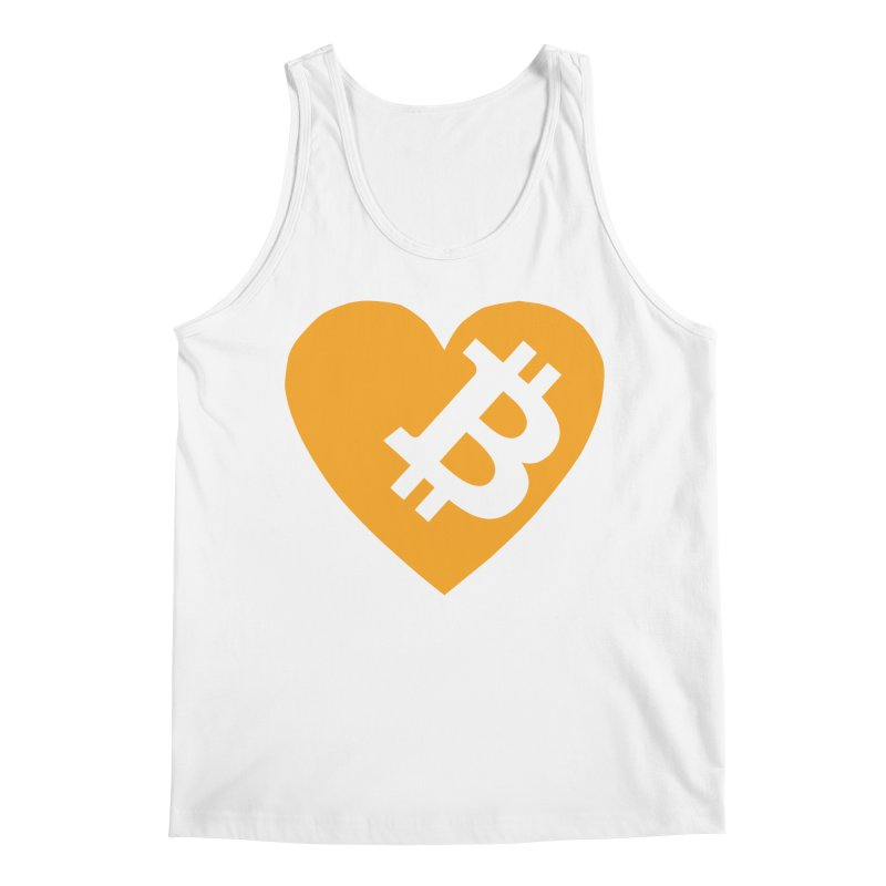 Love Bitcoin Men's Tank by Crypt0 Clothing Shop