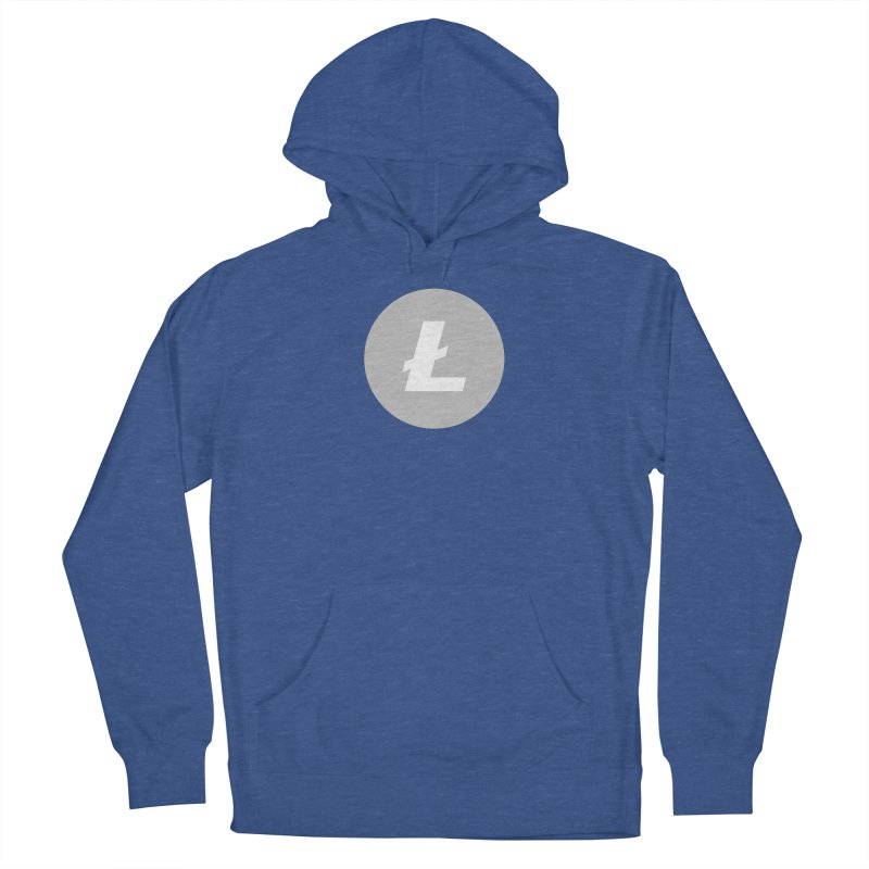 Litecoin Women's Pullover Hoody by Crypt0 Clothing Shop