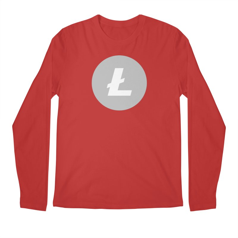 Litecoin Men's Regular Longsleeve T-Shirt by Crypt0 Clothing Shop
