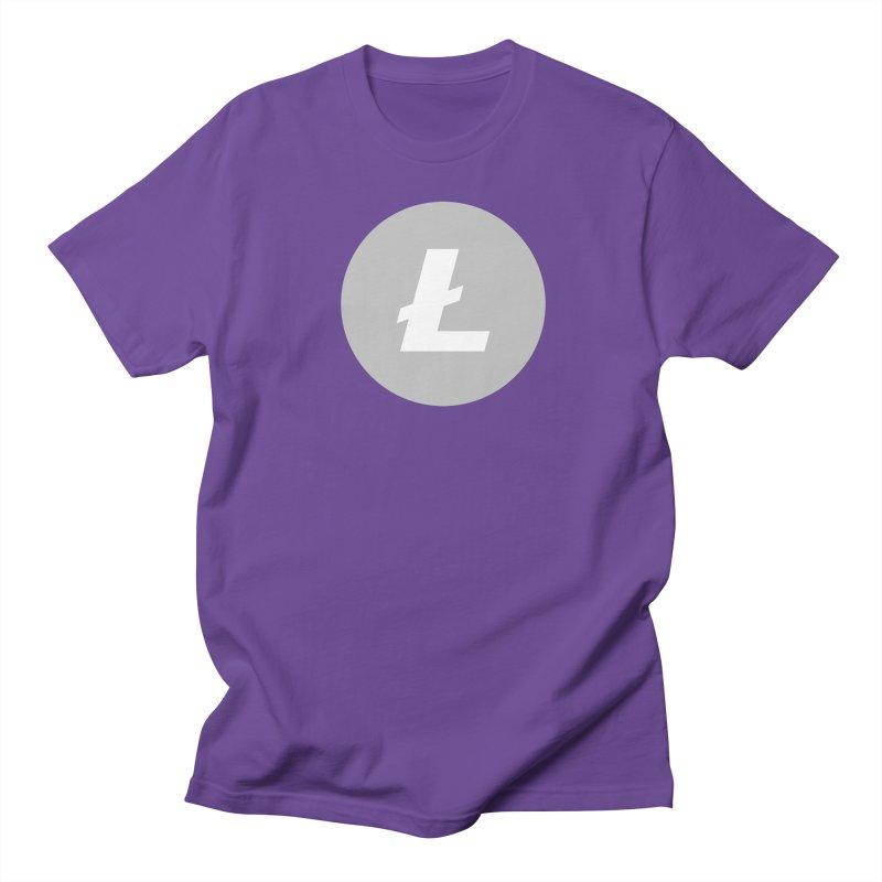 Litecoin Women's Regular Unisex T-Shirt by Crypt0 Clothing Shop