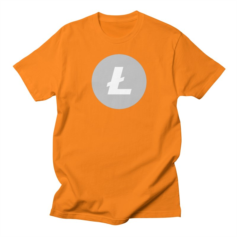 Litecoin Men's T-Shirt by Crypt0 Clothing Shop