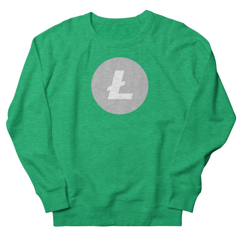 Litecoin Women's Sweatshirt by Crypt0 Clothing Shop