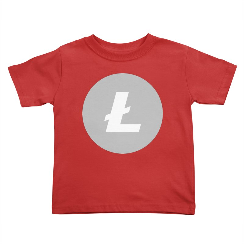Litecoin Kids Toddler T-Shirt by Crypt0 Clothing Shop