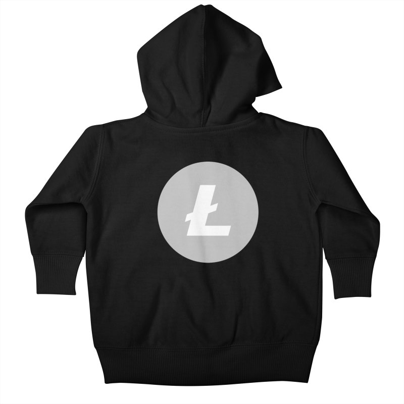 Litecoin Kids Baby Zip-Up Hoody by Crypt0 Clothing Shop