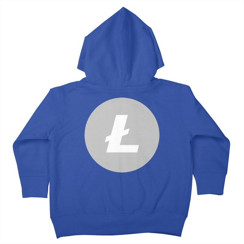 Litecoin Kids Toddler Zip-Up Hoody by Crypt0 Clothing Shop