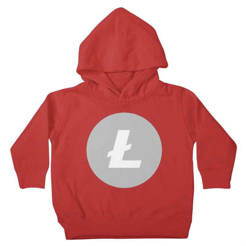 Litecoin Kids Toddler Pullover Hoody by Crypt0 Clothing Shop