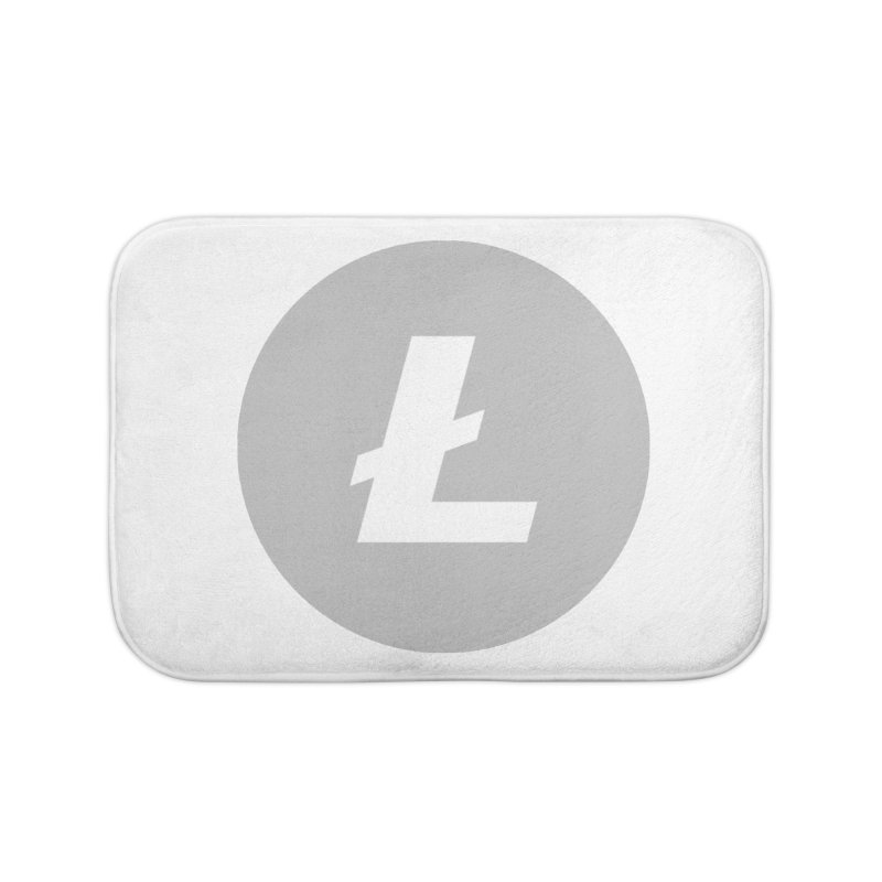 Litecoin Home Bath Mat by Crypt0 Clothing Shop