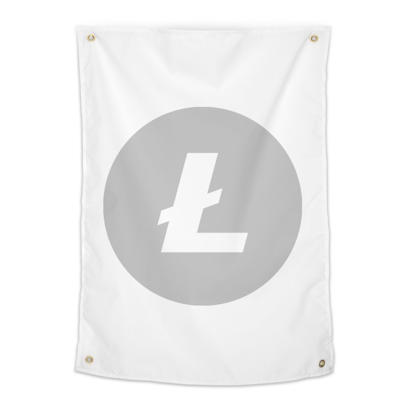 Litecoin Home Tapestry by Crypt0 Clothing Shop