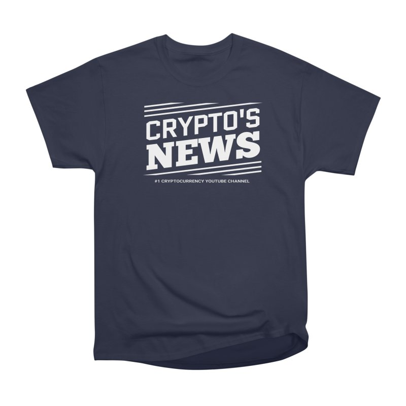 Crypt0's News Women's Heavyweight Unisex T-Shirt by Crypt0 Clothing Shop