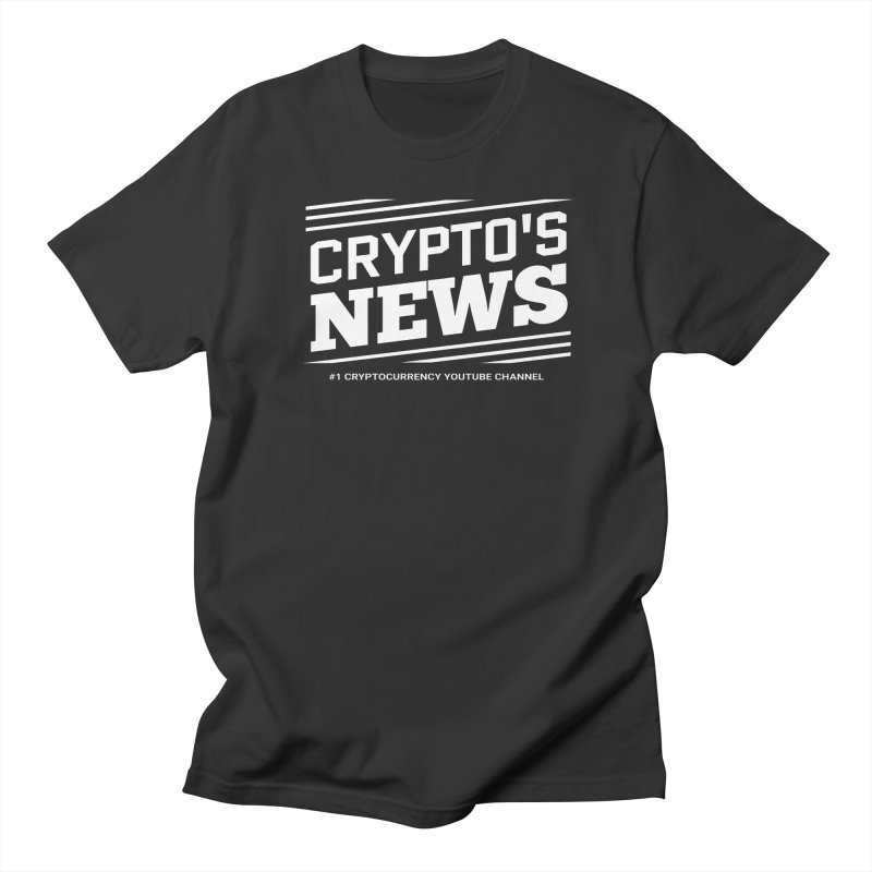 Crypt0's News Men's T-Shirt by Crypt0 Clothing Shop
