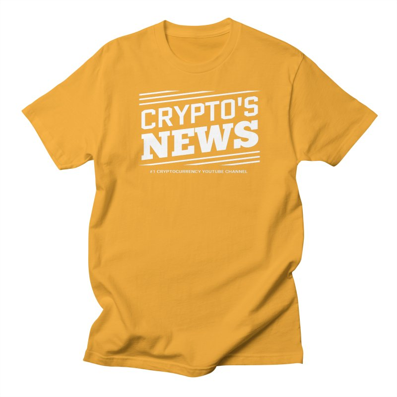 Crypt0's News Men's Regular T-Shirt by Crypt0 Clothing Shop