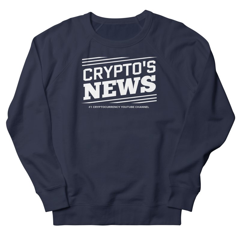 Crypt0's News Men's French Terry Sweatshirt by Crypt0 Clothing Shop