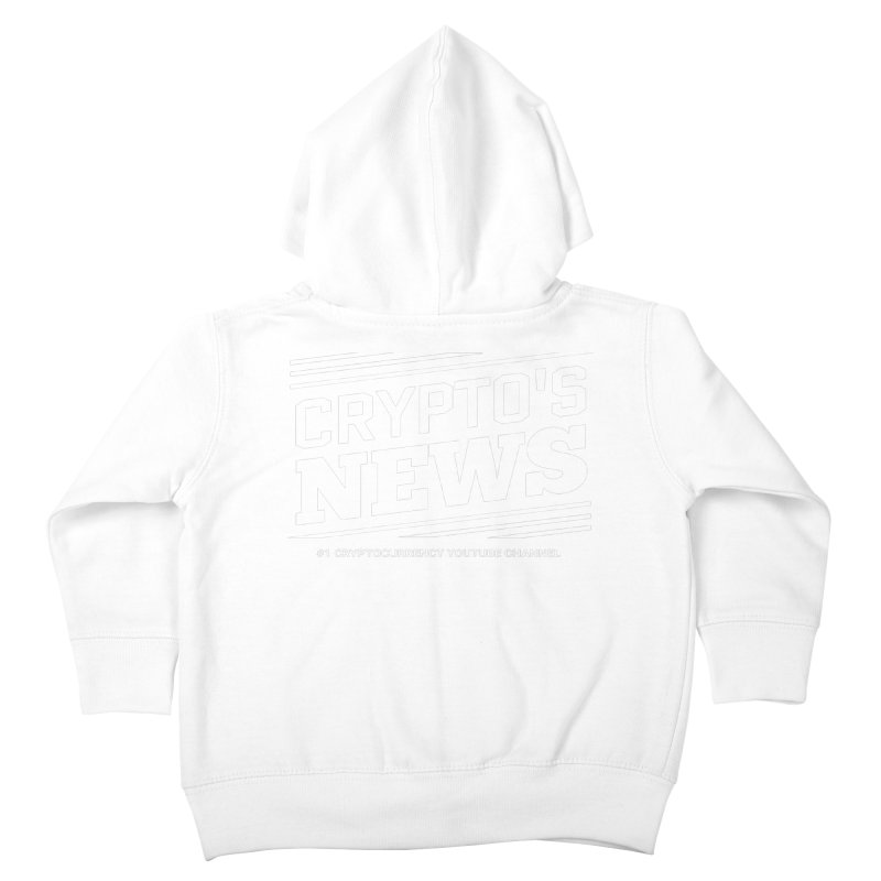 Crypt0's News Kids Toddler Zip-Up Hoody by Crypt0 Clothing Shop