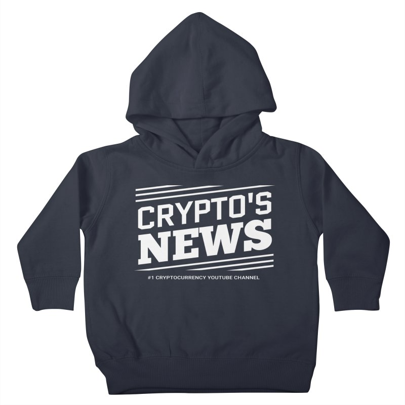 Crypt0's News Kids Toddler Pullover Hoody by Crypt0 Clothing Shop