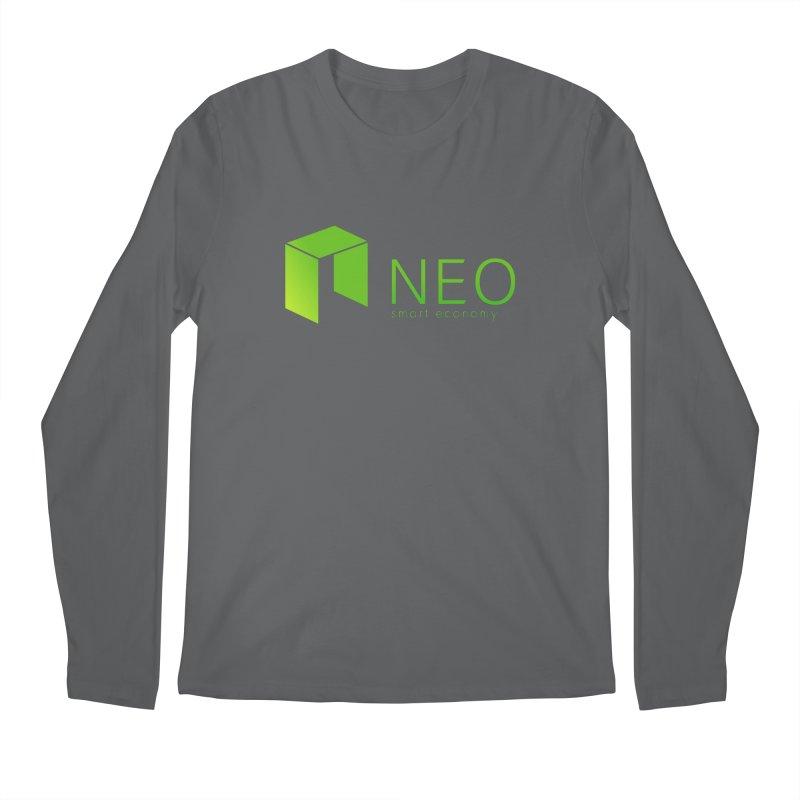 Neo Smart Economy Men's Longsleeve T-Shirt by cryptapparel's Artist Shop
