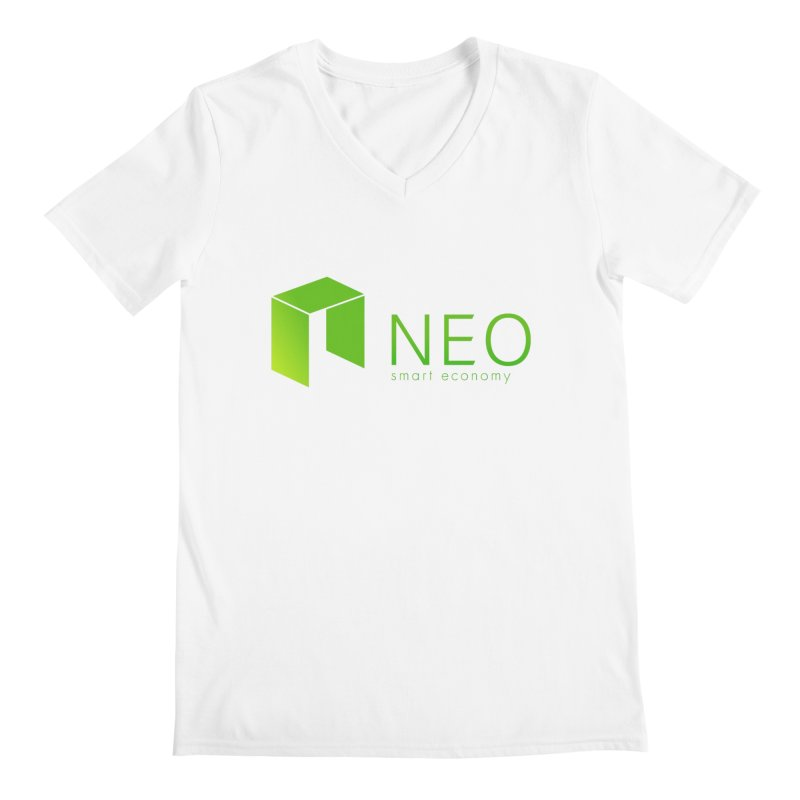 Neo Smart Economy Men's V-Neck by cryptapparel's Artist Shop