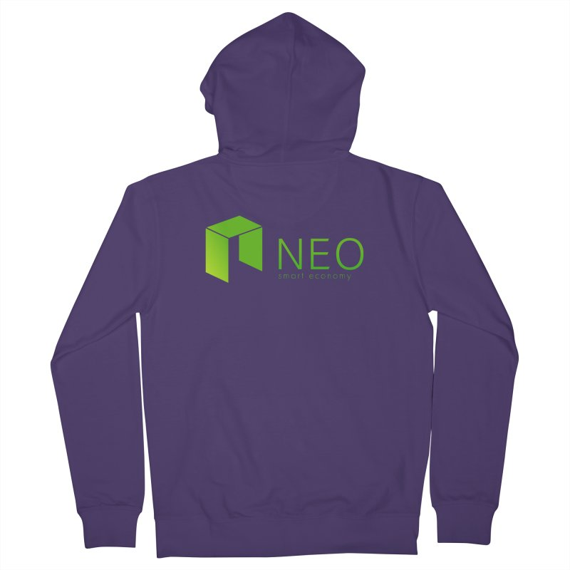 Neo Smart Economy Women's French Terry Zip-Up Hoody by cryptapparel's Artist Shop