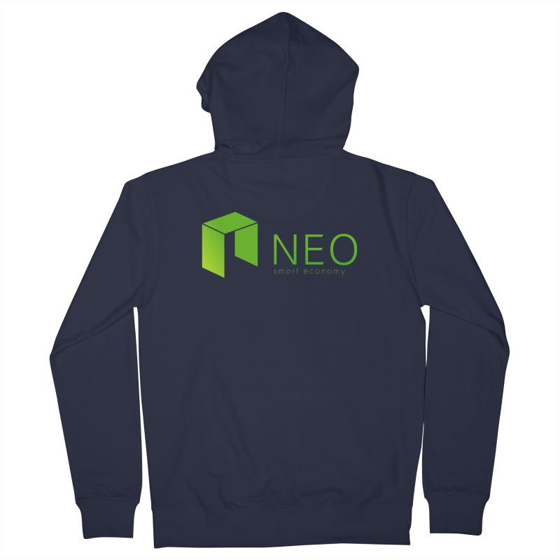 Neo Smart Economy Men's French Terry Zip-Up Hoody by cryptapparel's Artist Shop