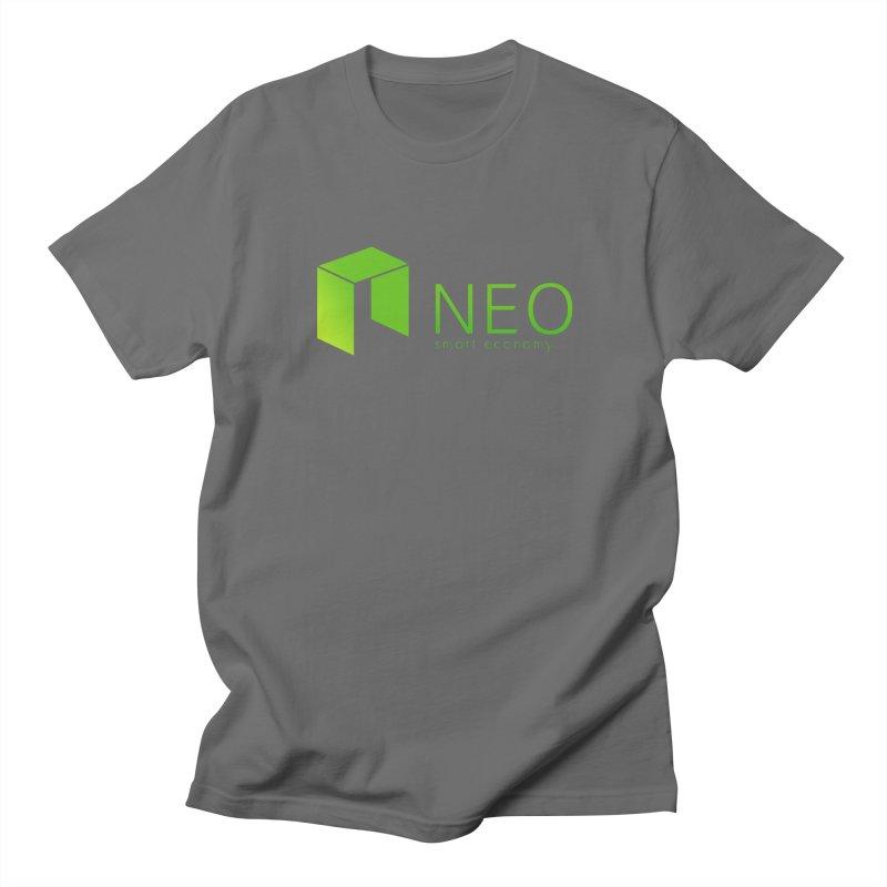 Neo Smart Economy Men's T-Shirt by cryptapparel's Artist Shop