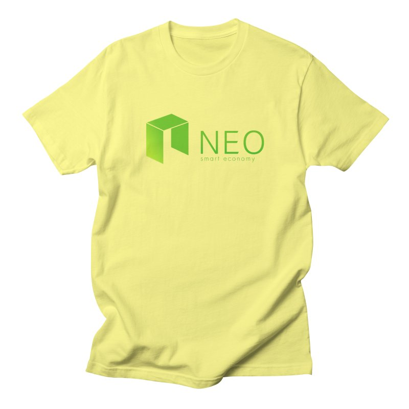 Neo Smart Economy Men's Regular T-Shirt by cryptapparel's Artist Shop