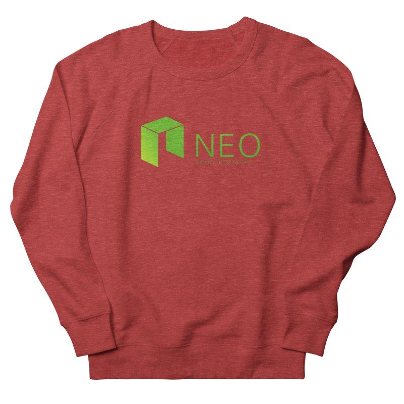 Neo Smart Economy Women's French Terry Sweatshirt by cryptapparel's Artist Shop