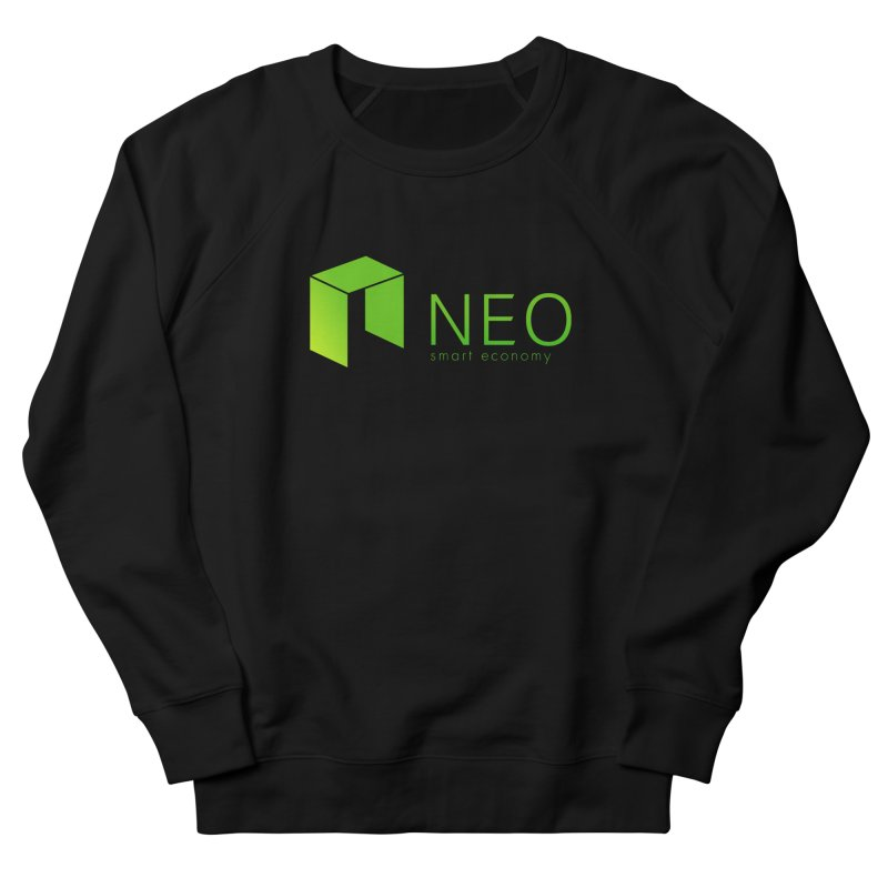Neo Smart Economy Women's French Terry Sweatshirt by cryptapparel's Artist Shop