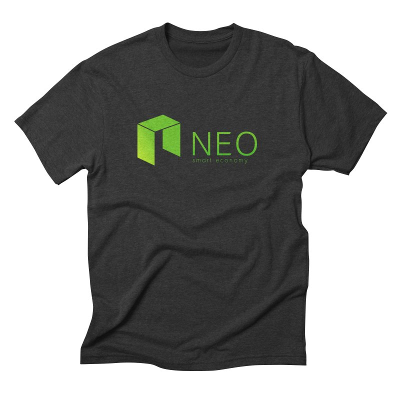 Neo Smart Economy Men's Triblend T-Shirt by cryptapparel's Artist Shop