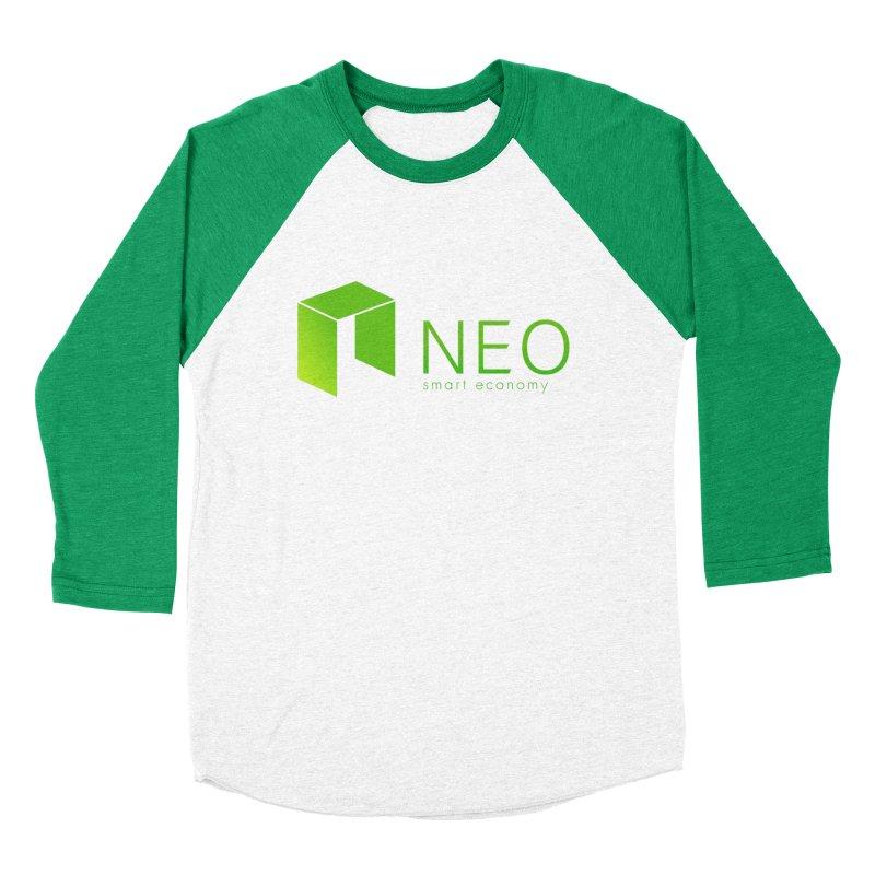 Neo Smart Economy Women's Baseball Triblend Longsleeve T-Shirt by cryptapparel's Artist Shop