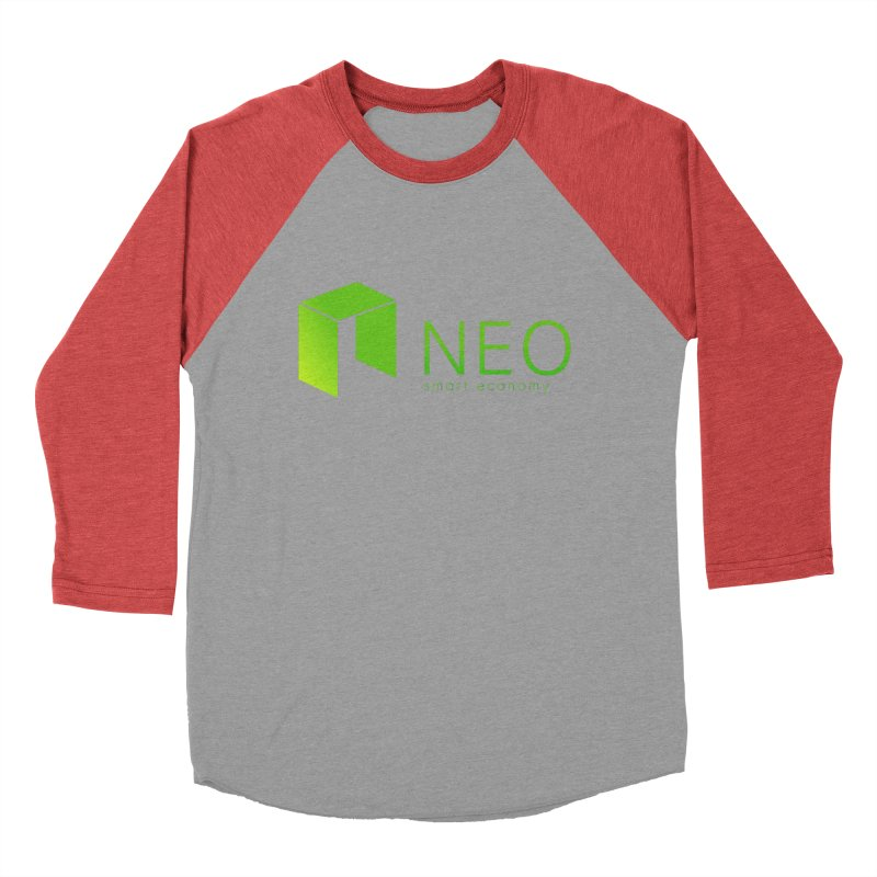 Neo Smart Economy Men's Baseball Triblend Longsleeve T-Shirt by cryptapparel's Artist Shop