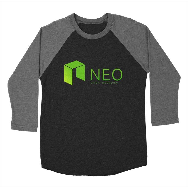 Neo Smart Economy Men's Baseball Triblend Longsleeve T-Shirt by cryptapparel's Artist Shop
