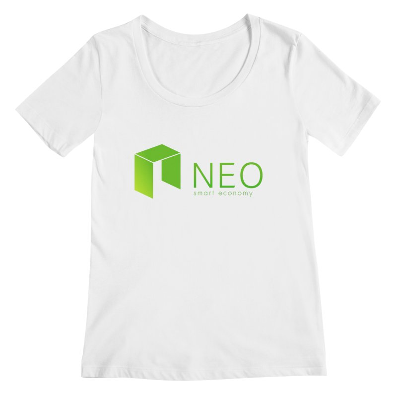 Neo Smart Economy Women's Regular Scoop Neck by cryptapparel's Artist Shop