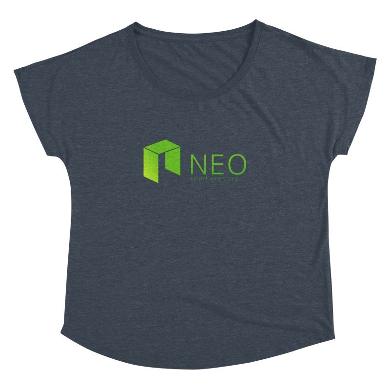 Neo Smart Economy Women's Dolman Scoop Neck by cryptapparel's Artist Shop