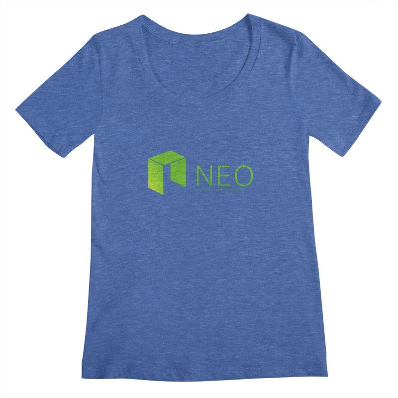 Neo Smart Economy Women's Regular Scoop Neck by cryptapparel's Artist Shop