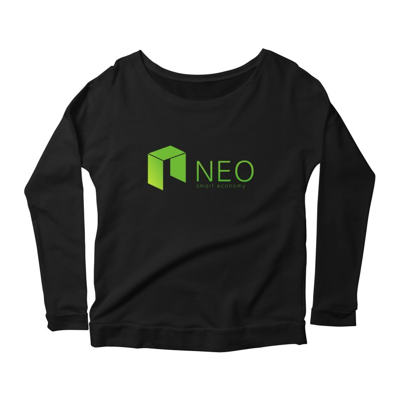 Neo Smart Economy Women's Scoop Neck Longsleeve T-Shirt by cryptapparel's Artist Shop