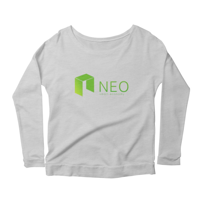 Neo Smart Economy Women's Scoop Neck Longsleeve T-Shirt by cryptapparel's Artist Shop