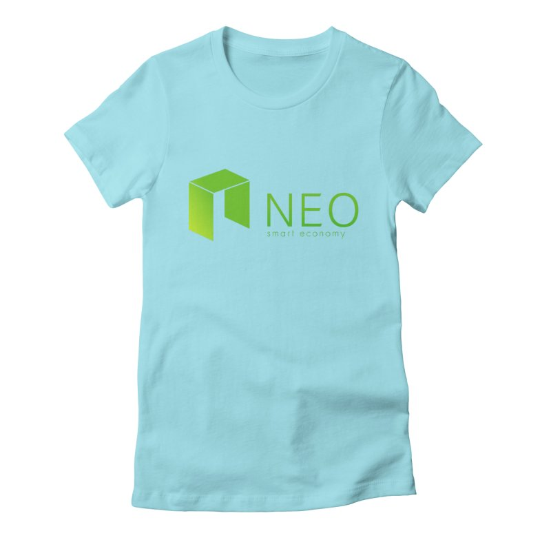 Neo Smart Economy Women's Fitted T-Shirt by cryptapparel's Artist Shop
