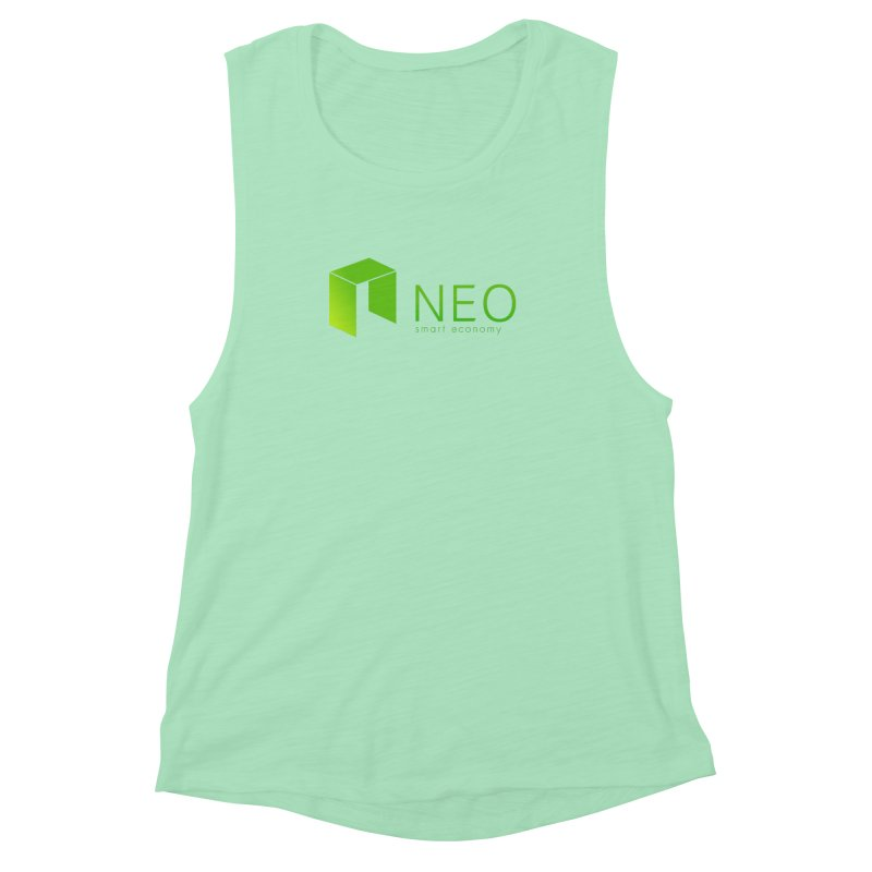 Neo Smart Economy Women's Muscle Tank by cryptapparel's Artist Shop