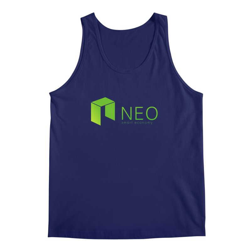Neo Smart Economy Men's Regular Tank by cryptapparel's Artist Shop