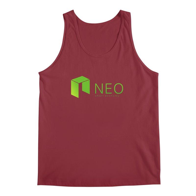 Neo Smart Economy Men's Tank by cryptapparel's Artist Shop