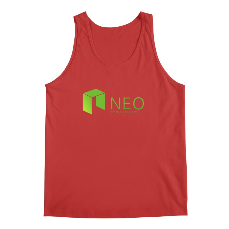 Neo Smart Economy Men's Regular Tank by cryptapparel's Artist Shop